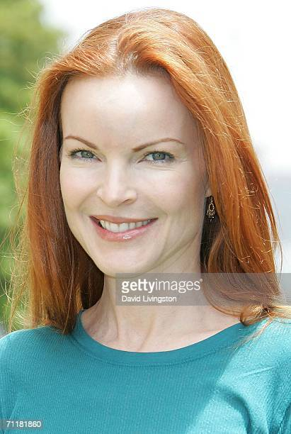 Actress Marcia Cross attends A Time for Heroes Celebrity Carnival sponsored by Disney to benefit the Elizabeth Glaser Pediatric AIDS Foundation on...