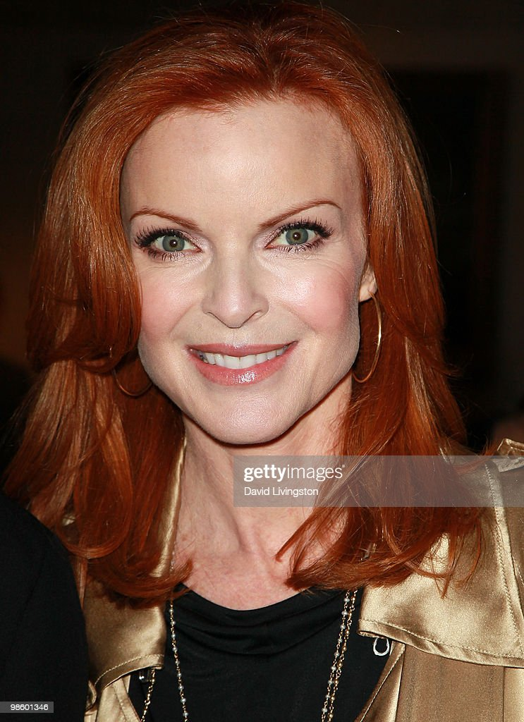 Actress Marcia Cross attends the 15th Annual Los Angeles Antique Show Opening Night Preview Party benefiting P.S. ARTS at Barker Hanger on April 21, 2010 in Santa Monica, California.