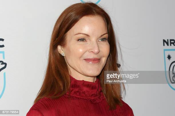 Actress Marcia Cross attends the Natural Resources Defense Council's STAND UP for the Planet benefit at Wallis Annenberg Center for the Performing...