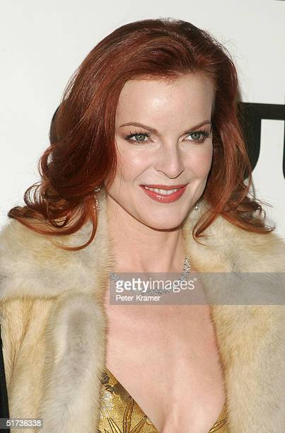 Actress Marcia Cross attends the Out100 10th Anniversary gala at Capitale on November 12 2004 in New York City