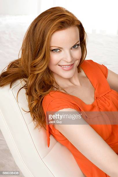 Actress Marcia Cross is photographed for Health Magazine in 2008