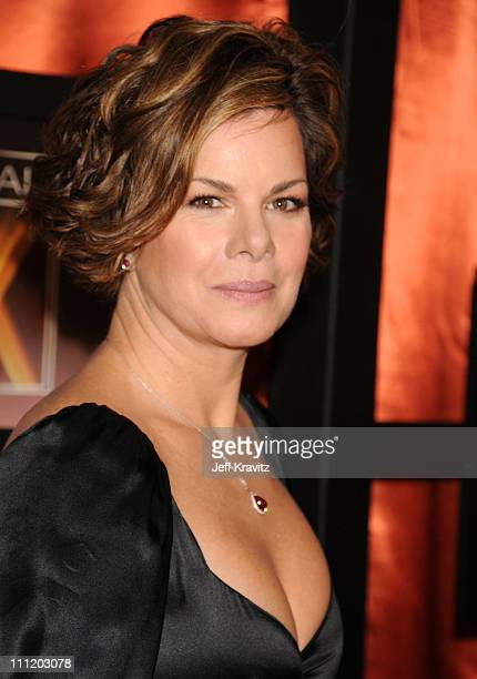 Actress Marcia Gay Harden arrives at the 13th ANNUAL CRITICS' CHOICE AWARDS at the Santa Monica Civic Auditorium on January 7 2008 in Santa Monica...