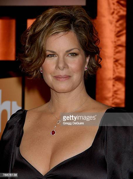 Actress Marcia Gay Harden arrives at the 13th ANNUAL CRITICS' CHOICE AWARDS at the Santa Monica Civic Auditorium on January 7, 2008 in Santa Monica,...