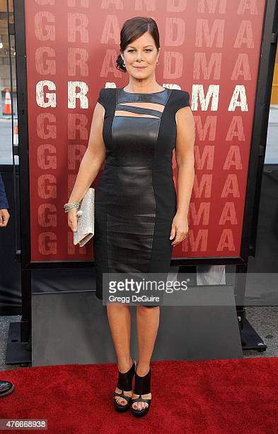 """Actress Marcia Gay Harden arrives at the 2015 Los Angeles Film Festival opening night premiere of """"Grandma"""" at Regal Cinemas L.A. Live on June 10,..."""