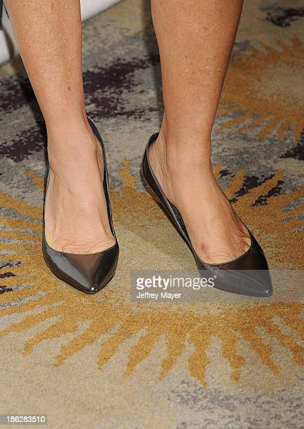 Actress Marcia Gay Harden at the 2013 International Women's Media Foundation's Courage In Journalism Awards at The Beverly Hills Hotel on October 29...
