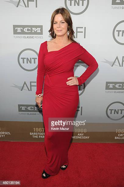 Actress Marcia Gay Harden attends the 2014 AFI Life Achievement Award A Tribute to Jane Fonda at the Dolby Theatre on June 5 2014 in Hollywood...