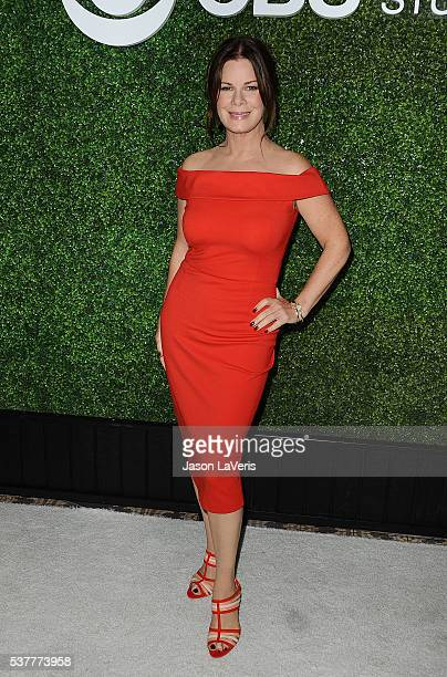Actress Marcia Gay Harden attends the 4th annual CBS Television Studios Summer Soiree at Palihouse on June 2 2016 in West Hollywood California