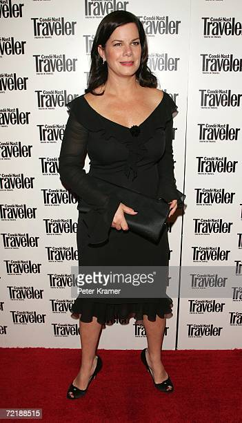 Actress Marcia Gay Harden attends the Conde Nast Traveler 19th Annual Reader's Choice Awards at The Museum of Natural History October 16 2006 in New...