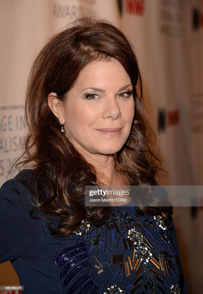 Actress Marcia Gay Harden attends the International Women's Media Foundation's 2013 Courage in Journalism Awards at the Beverly Hills Hotel on October 29, 2013 in Beverly Hills, California.