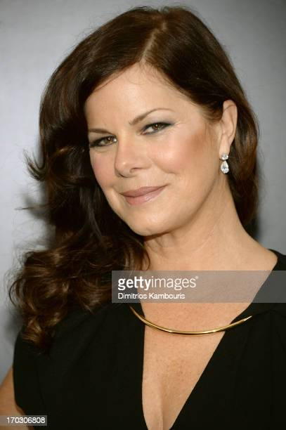 Actress Marcia Gay Harden attends the Man Of Steel world premiere at Alice Tully Hall at Lincoln Center on June 10 2013 in New York City