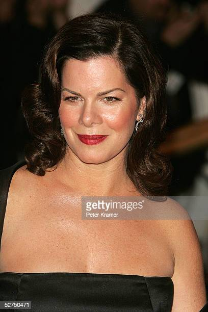 Actress Marcia Gay Harden attends the MET Costume Institute Gala Celebrating Chanel at the Metropolitan Museum of Art May 2 2005 In New York City