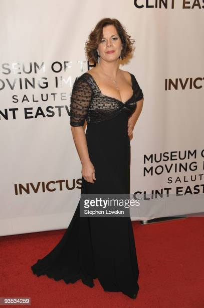 Actress Marcia Gay Harden attends the Museum of The Moving Image salutes Clint Eastwood at the Paris Theatre on December 1, 2009 in New York City.