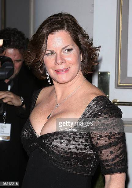 Actress Marcia Gay Harden attends the Museum of The Moving Image salute to Clint Eastwood on December 1, 2009 in New York City.
