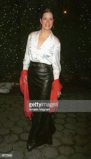 Actress Marcia Gay Harden attends the National Board of Review Awards December 16 2001 at the Tavern on the Green in New York City