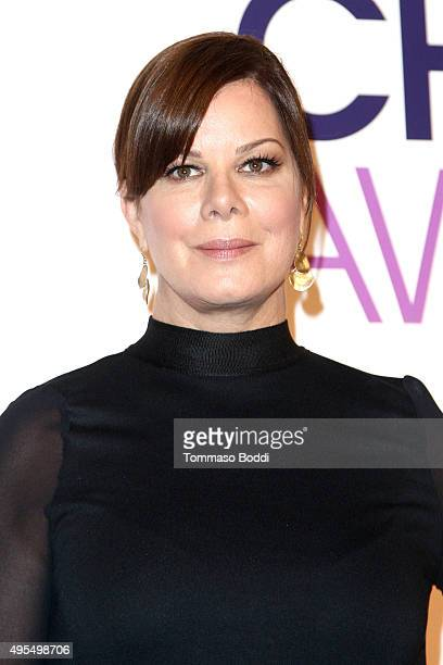 Actress Marcia Gay Harden attends the People's Choice Awards 2016 Nominations Press Conference at The Paley Center for Media on November 3 2015 in...