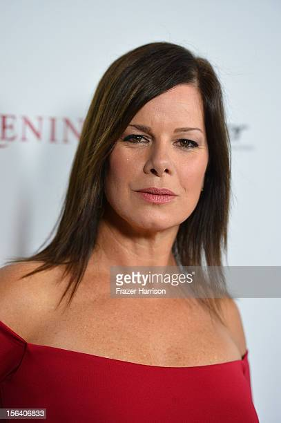 Actress Marcia Gay Harden attends the premiere of Focus Features' Anna Karenina held at ArcLight Cinemas on November 14 2012 in Hollywood California