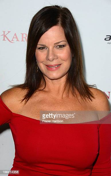 Actress Marcia Gay Harden attends the premiere of Focus Features' 'Anna Karenina' held at ArcLight Cinemas on November 14 2012 in Hollywood California
