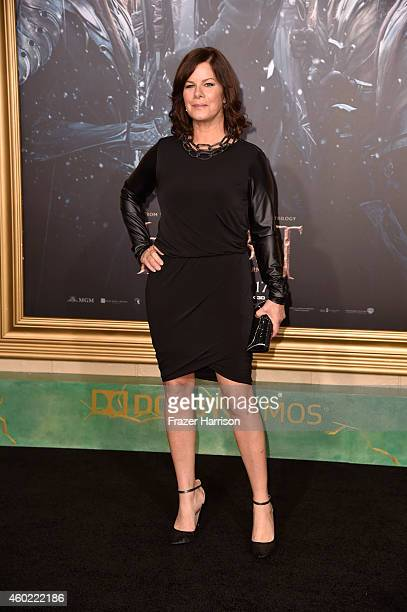 """Actress Marcia Gay Harden attends the premiere of New Line Cinema, MGM Pictures And Warner Bros. Pictures' """"The Hobbit: The Battle Of The Five..."""