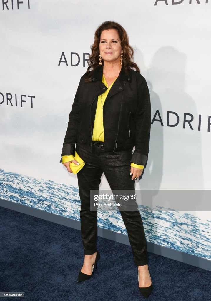 Actress Marcia Gay Harden attends the premiere of STX Films' 'Adrift' at Regal LA Live Stadium 14 on May 23, 2018 in Los Angeles, California.