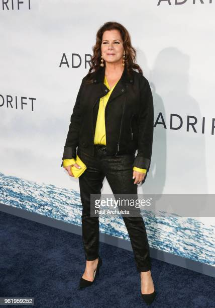 Actress Marcia Gay Harden attends the premiere of STX Films' Adrift at Regal LA Live Stadium 14 on May 23 2018 in Los Angeles California
