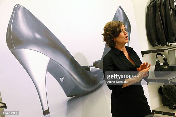 Actress Marcia Gay Harden attends the Silver 925 Technology launch at the Kenneth Cole New York Rockefeller Center Store on August 7, 2009 in New...