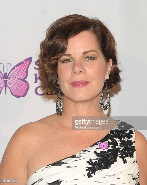 Actress Marcia Gay Harden attends the Solving Kids' Cancer Spring Benefit at the American Museum of Natural History on May 12 2010 in New York City