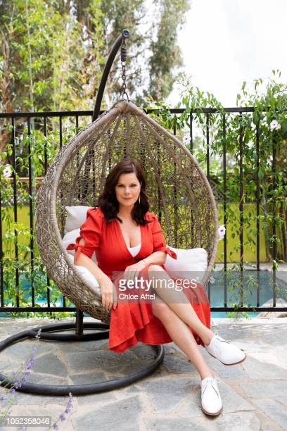 Actress Marcia Gay Harden is photographed for People Magazine on April 15 2018 in Los Angeles California PUBLISHED IMAGE