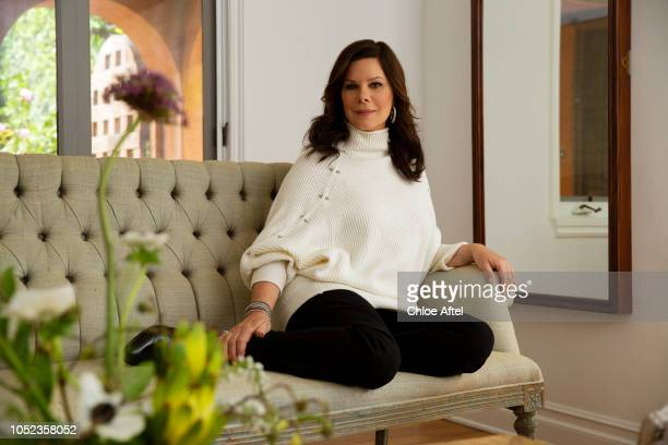 Actress Marcia Gay Harden is photographed for People Magazine on April 15 2018 in Los Angeles California