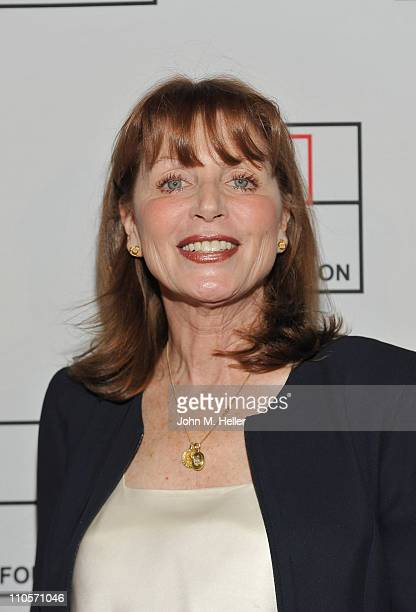 Actress Marcia Strassman arrives at the 2011 AFTRA Media and Entertainment Excellence Awards honoring Jaime Jarrin for Broadcasting John Walsh for...