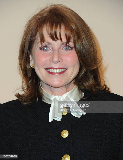 Actress Marcia Strassman arrives to the Academy of Television Arts Sciences' Hall of Fame Committe's 20th Annual Induction Gala on January 20 2011 in...