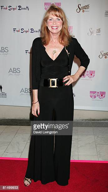Actress Marcia Strassman attends the 6th annual 'What a Pair' concert at the Orpheum Theatre on June 8 2008 in Los Angeles California