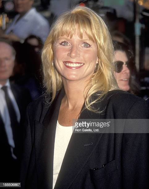 Actress Marcia Strassman attends The Fugitive Westwood Premiere on July 29 1993 at Mann Village Theatre in Westwood California