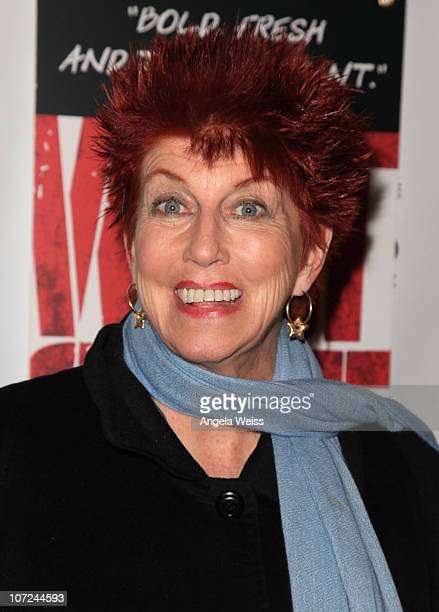 Actress Marcia Wallace attends the opening night of 'West Side Story' at the Pantages Theatre on December 1 2010 in Hollywood California