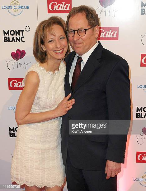 Actress Mareike Carriere and Gerd Klement attend the Couple Of The Year event on April 11, 2011 in Hamburg, Germany.