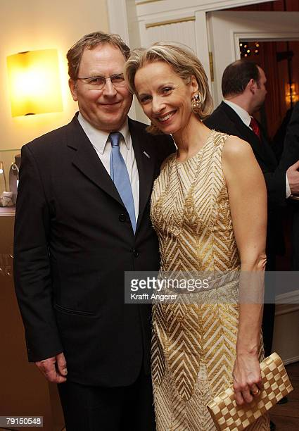 Actress Mareike Carriere and Gerd Klement attend the Couple of the Year Event January 21, 2008 in Hamburg, Germany.