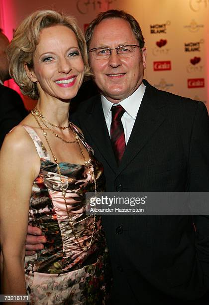Actress Mareike Carriere and her husband Gerd J. Klement attend the Couple of the Year 2007 Awards, at the Hotel Luis C. Jacob February 5, 2007 in...