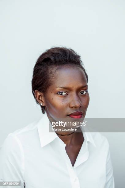 Actress Mareme Ndiaye is photographed for Self Assignment on May 2018 in Cannes France