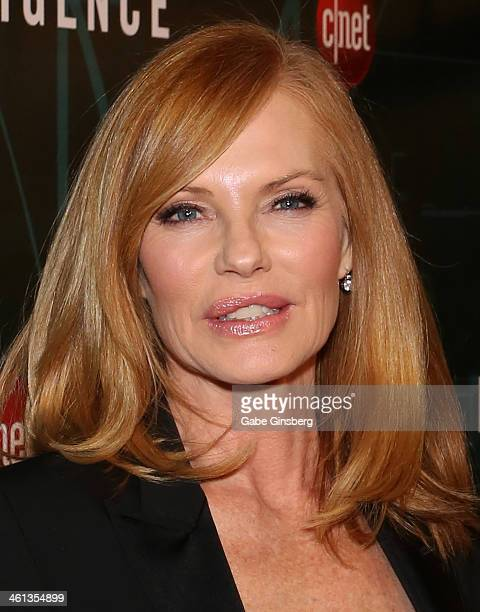 """Actress Marg Helgenberger arrives at CNET'S premiere party for the CBS television show """"Intelligence"""" during the 2014 International CES at the Tao..."""
