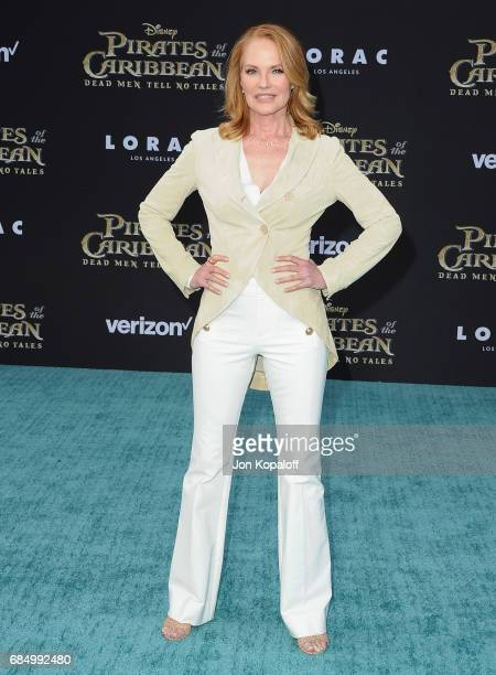Actress Marg Helgenberger arrives at the Los Angeles Premiere Pirates Of The Caribbean Dead Men Tell No Tales at Dolby Theatre on May 18 2017 in...