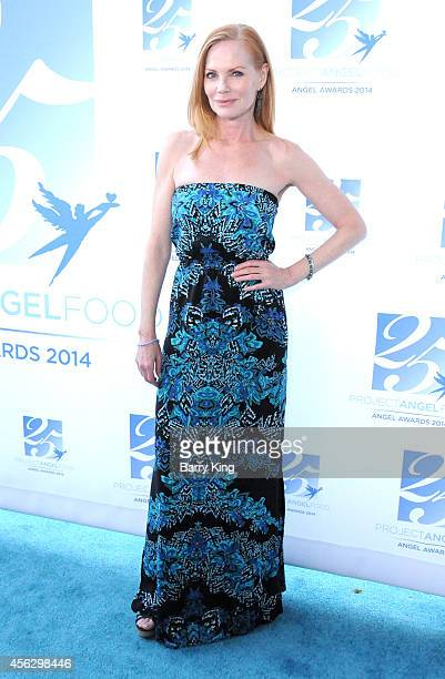 Actress Marg Helgenberger arrives for Project Angel Food Celebrates 25 Years With 2014 Angel Awards at Project Angel Food on September 6 2014 in Los...