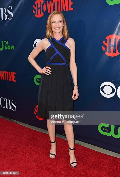 Actress Marg Helgenberger attends CBS' 2015 Summer TCA party at the Pacific Design Center on August 10 2015 in West Hollywood California