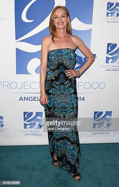 Actress Marg Helgenberger attends the 2014 Angel Awards at Project Angel Food on September 6 2014 in Los Angeles California
