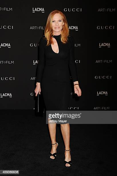 Actress Marg Helgenberger attends the 2014 LACMA Art Film Gala honoring Barbara Kruger and Quentin Tarantino presented by Gucci at LACMA on November...