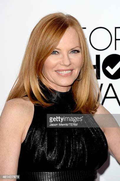 Actress Marg Helgenberger attends The 40th Annual People's Choice Awards at Nokia Theatre L.A. Live on January 8, 2014 in Los Angeles, California.