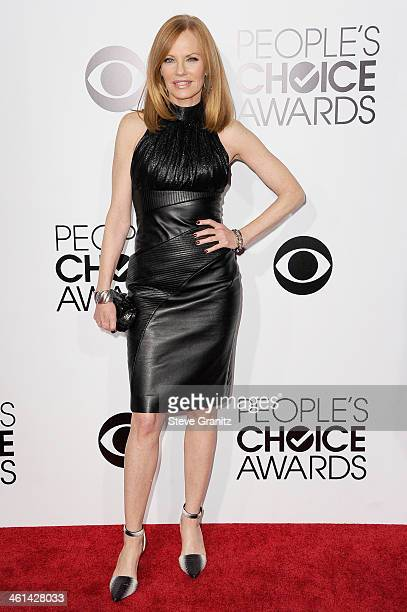 Actress Marg Helgenberger attends The 40th Annual People's Choice Awards at Nokia Theatre LA Live on January 8, 2014 in Los Angeles, California.