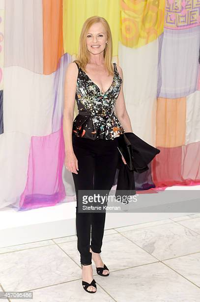 Actress Marg Helgenberger attends the Hammer Museum's 12th annual Gala in the Garden with generous support from Bottega Veneta at the Hammer Museum...