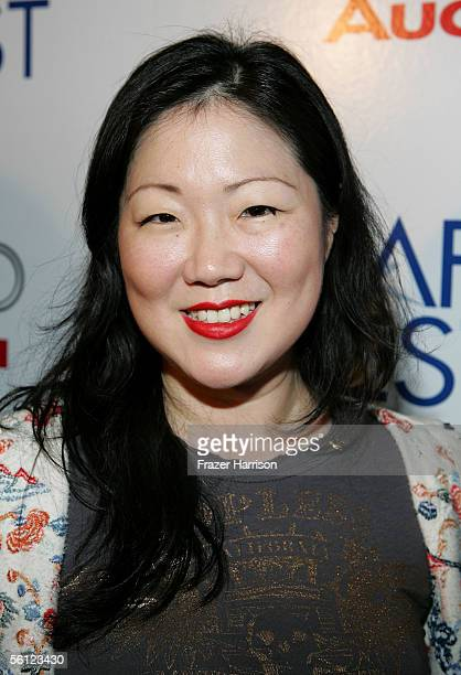 """Actress Margaret Cho arrives at the screening of the film """"Bam Bam & Celeste"""" during AFI Fest presented by Audi at the ArcLight Theatre on November..."""