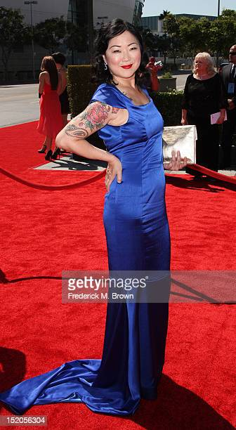 Actress Margaret Cho attends The Academy Of Television Arts & Sciences 2012 Creative Arts Emmy Awards at the Nokia Theatre L.A. Live on September 15,...