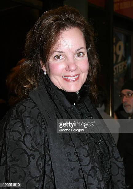 Actress Margaret Colin arrives at the Broadway opening night of 39 Steps at the American Airlines Theater on January 15 2008 in New York City