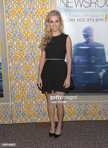 Actress Margaret Judson attends the premiere of HBO's Newsroom Season 3 at Directors Guild Of America on November 4 2014 in Los Angeles California